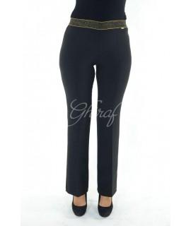 Pantaloni Zampa Lurex 31002 Pantaloni donna PB31002