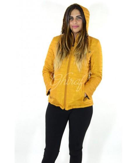 online retailer 5565d fab83 Piumino 100g 8087 Taglie M Colore Senape