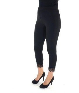 Pantaloni Capri Ricamo 1032 Pantaloni donna SC1032