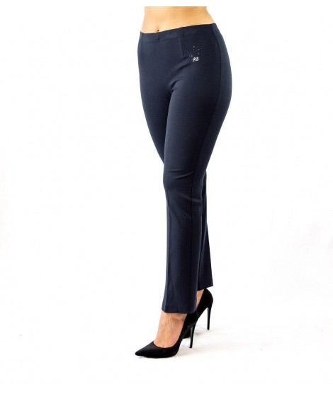 Pantaloni con Strass 3706 Pantaloni donna PB3706