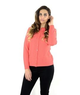Cardigan Pura Lana 309 Maglieria e t-shirt donna EDBDU309
