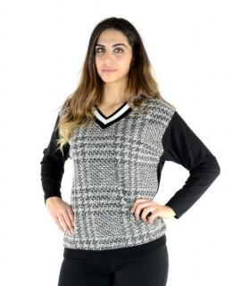 Maglia Scollo V 8687 Maglieria e t-shirt donna CF8687