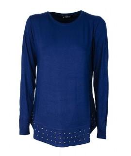 Maglietta Borchie 537 Maglieria e t-shirt donna PJ8/537