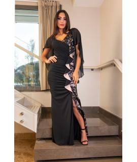 Vestito con Spacco 103 Vestiti donna PF103