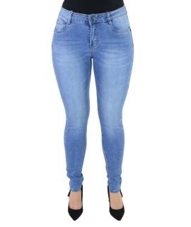 Jeans con Bottone 1106 Jeans donna EC1106