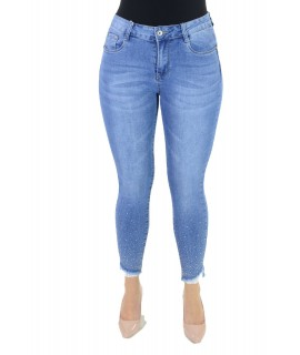 Jeans Perline 1152 Jeans donna EC1152