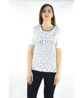 T-shirt Pois 9046 Maglieria e t-shirt donna NG9046
