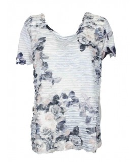 T-shirt Stampa Curvy 1230074 Maglieria e t-shirt donna CO1230074
