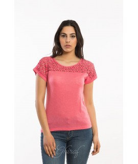Maglia 15E46 5 Pezzi S-XXL (Bianco) Maglieria e t-shirt donna AR15E461BIANCO