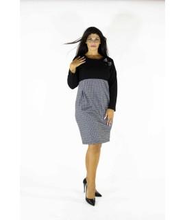 Vestito Fantasia Lurex 7005 Vestiti donna DB7005