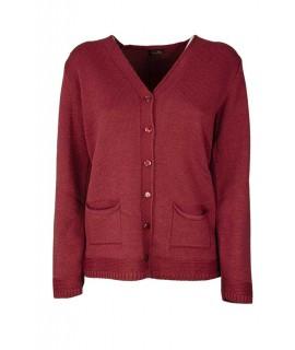 Cardigan Tasche 9890 Maglieria e t-shirt donna FO9890