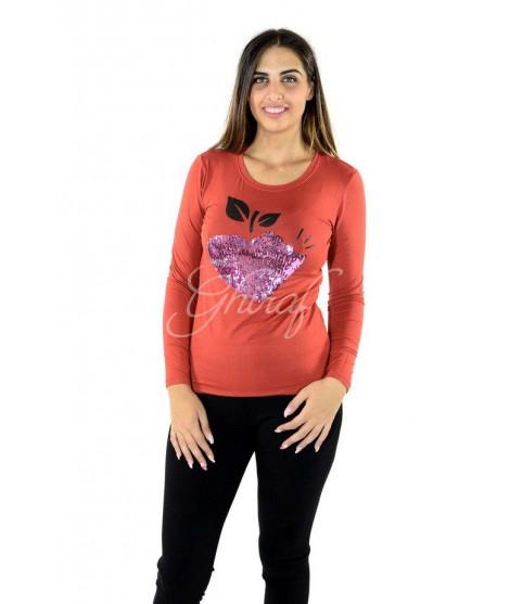 Maglia Strass 3324 Maglieria e t-shirt donna GMV3324