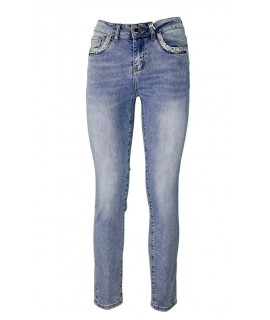 Jeans Strass 6903 Jeans donna FAR6903