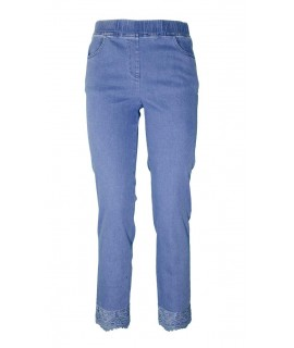 Jeans Elastico Ricamo 16094 Jeans donna CF16094