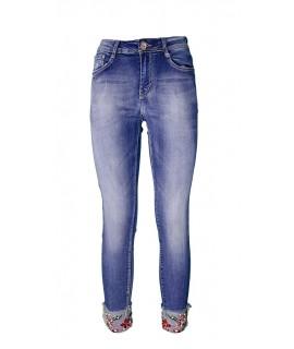 Jeans Ricamati 885 Jeans donna EC885