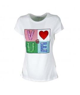T-shirt Love 7830 Maglieria e t-shirt donna EC7830