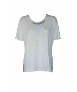 T-shirt Perline 19464 Maglieria e t-shirt donna NG19464