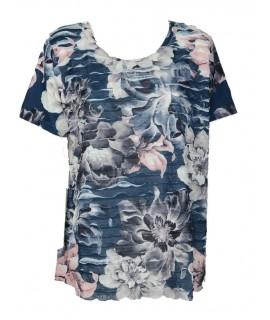 Maglietta Stampa Curvy 17942 Maglieria e t-shirt donna CO17942