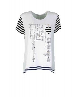 T-shirt Girocollo 887 Maglieria e t-shirt donna EC887