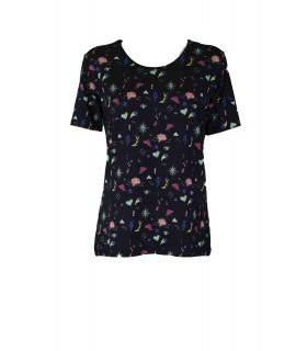 T-shirt Floreale 1E260 Maglieria e t-shirt donna EC1E260