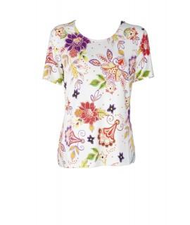 T-shirt Floreale 4B186 Maglieria e t-shirt donna EC4B186