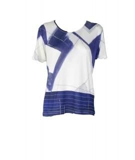 T-shirt Geometrica 4A007 Maglieria e t-shirt donna EC4A007