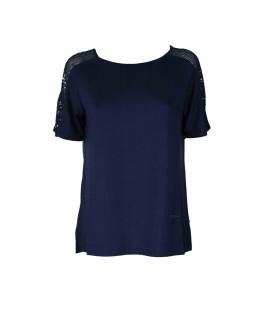 Maglia Profili Paillettes 9107 Maglieria e t-shirt donna CF9107