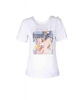 T-shirt C'est la Vie 72354 Maglieria e t-shirt donna EC72354
