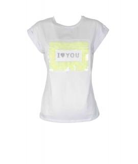 T-shirt Paillettes 71924 Maglieria e t-shirt donna EC71924