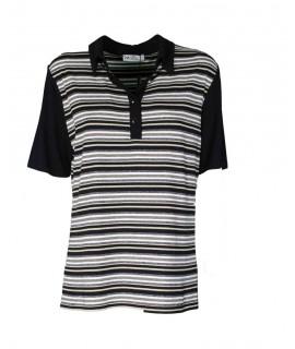 Polo Fantasia Righe Miriam Maglieria e t-shirt donna PO21274