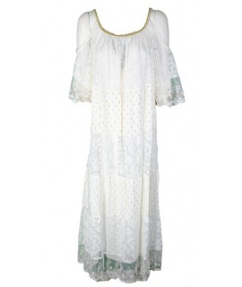 Vestito Spalle Scoperte 61177-6 Vestiti donna MII61177-6