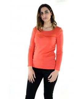 Maglia 16E074 5 Pezzi S-XXL (Arancio) Maglieria e t-shirt donna AR16E074
