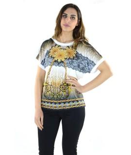 Maglia Fantasia 654 Maglieria e t-shirt donna AL654