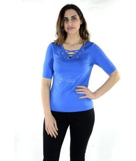 Maglia 16E085 5 Pezzi S-XXL (Blu Royal) Maglieria e t-shirt donna AR16E085BROYAL