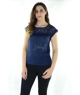 Maglia 16E088 5 Pezzi S-XXL (Blu) Maglieria e t-shirt donna AR16E088BLU