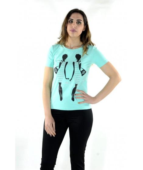 T-shirt Stampa 7462 Maglieria e t-shirt donna GMV7462