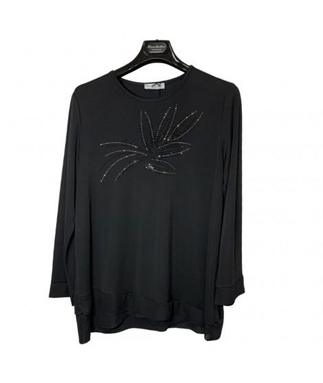 Maglia Curvy Strass 9635 Maglieria e t-shirt donna KC9635