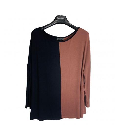 Maglia Bicolor 2042 Maglieria e t-shirt donna BG2042