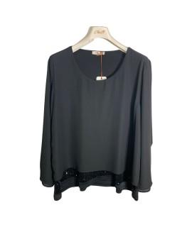 Bluse Paillettes 08618 Camicie e Bluse donna CB08618