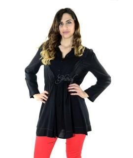 Camicia Lunga 1592 Camicie e Bluse donna ECCR1592