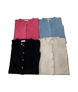 Cardigan Over 94456 Maglieria e t-shirt donna EC94456