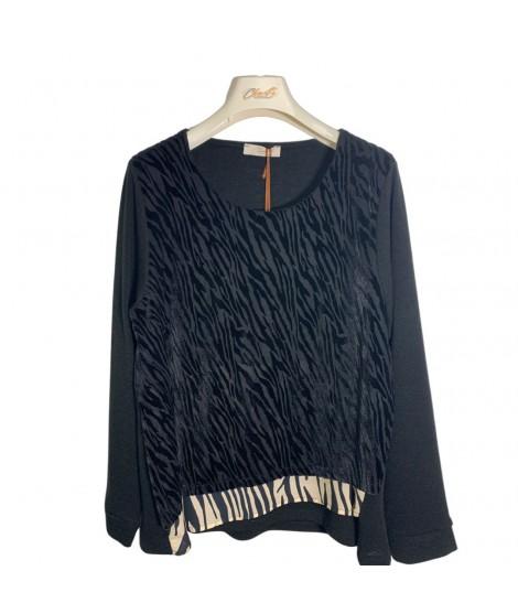 Maglia Zebrata 08630 Maglieria e t-shirt donna CB08630