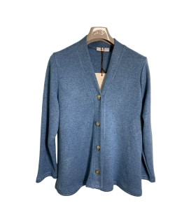 Cardigan Tinta Unita 01046 Maglieria e t-shirt donna CB01046