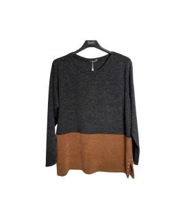 Maglia Bicolor 22 Maglieria e t-shirt donna EC22