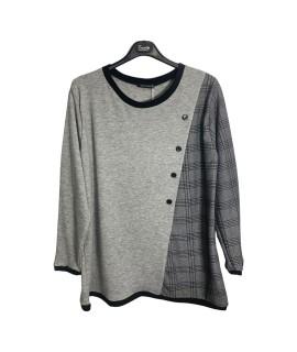 Maglia Bicolor 17 Maglieria e t-shirt donna EC17