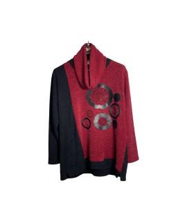 Maglia Scaldacollo 4919 Maglieria e t-shirt donna EQ4919