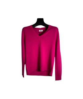 Maglia Scollo V DA374 Maglieria e t-shirt donna EDBDA374