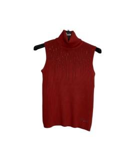 Dolcevita Smanicato 2066 Maglieria e t-shirt donna EC2066