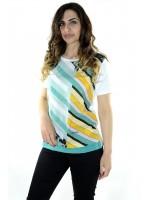 T-shirt Fantasia 8415 Maglieria e t-shirt donna CF8415