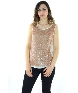 Top Paillettes 1232 Maglieria e t-shirt donna RH1232